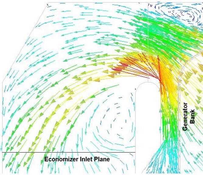 Baseline Velocity Vector Plot